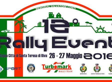 Si avvicina la 12°edizione del Rally Event.