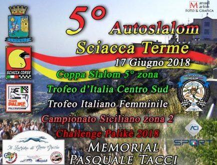 Si avvicina il 5°Autoslalom Sciacca Terme.