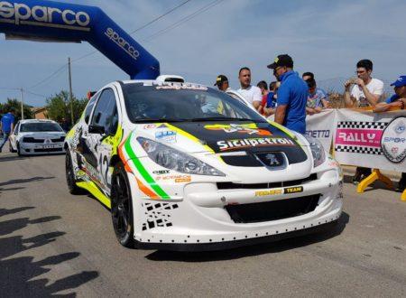 L'equipaggio Di Benedetto-Longo vince il 16°Rally di Caltanissetta.