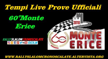 Tempi Live Prove Ufficiali - 60°Monte Erice.