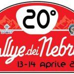 Il 20^ Rally dei Nebrodi va al 13-14 Aprile.