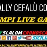 Tempi live - 3 Rally Cefalù Corse.