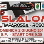 1^Slalom Timparossa - Rosolini va al 1-2 Giugno.