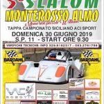 Il 5°Slalom Monterosso Almo va al 29-30 Giugno.