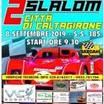 2° Slalom Città di Caltagirone - 7/8 Settembre.