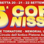 La 65°esima Coppa Nissena va al 20-21-22 Settembre.