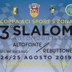 Tempi Live 3° Slalom Altofonte Rebuttone.