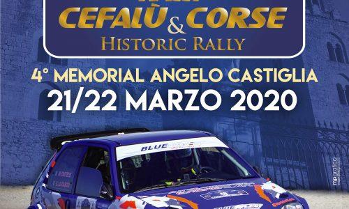 Il 4° Rally Cefalù Corse si svolgerà il 21-22 Marzo.