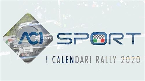 Elenco gare Rally titolate per la ripartenza 2020.