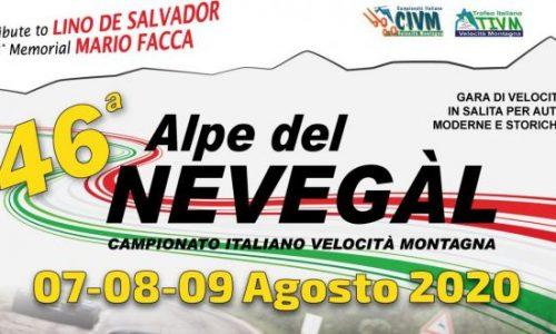 Tempi Live 46° esima Alpe del Nevegal 2020.
