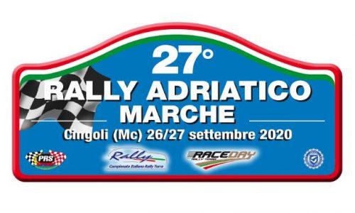 Tempi Live 27° Rally Adriatico – Marche.