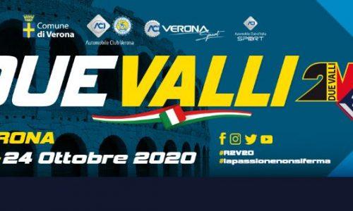 Il 38°esimo Rally Due Valli apre le iscrizioni.