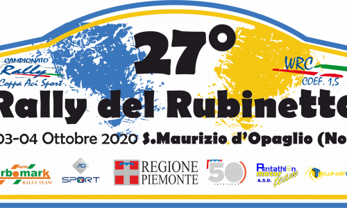 Elenco Iscritti 27° Rally del Rubinetto.