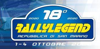 Elenco equipaggi ammessi Rally Legend 2020.