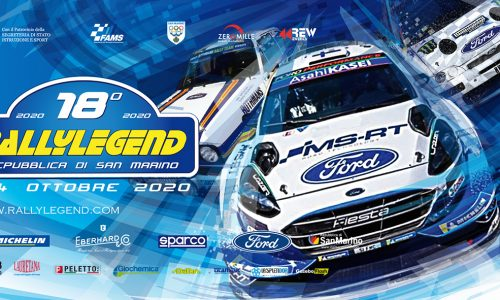 Elenco Iscritti 18°esimo Rally Legend.