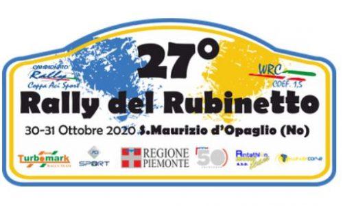 Elenco Iscritti 27°esimo Rally del Rubinetto.