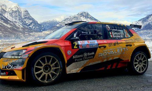 L'equipaggio Caffoni – Grossi vince il 56° Rally Valli Ossolane.