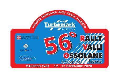 Elenco Iscritti 56°esima edizione del Rally Valli Ossolane.
