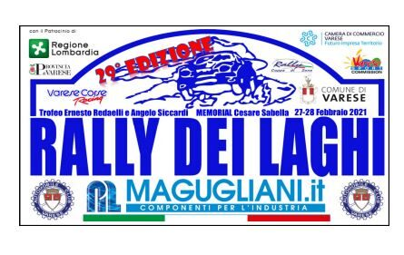 Elenco iscritti 29°esimo Rally dei Laghi.