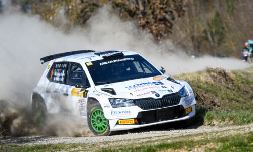 L'equipaggio Marchioro – Marchetti vince il 1° Rally Valle del Tevere Arezzo.