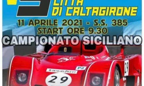 Il 3° Slalom Città di Caltagirone va al 10-11 Aprile.