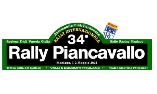 Elenco Iscritti 34°esimo Rally Piancavallo.