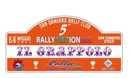La 5°edizione del Rally il Grappolo apre le iscrizioni.