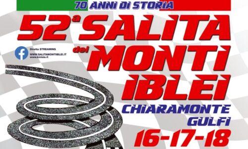 Elenco Iscritti 52°esima Salita dei Monti Iblei.