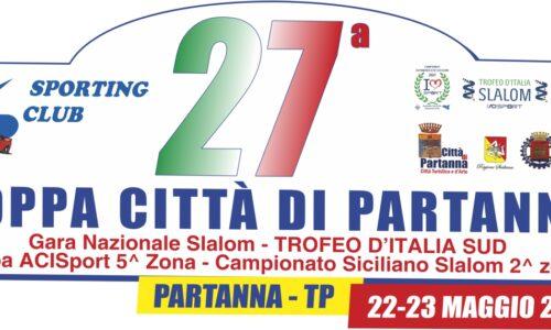 La 27°esima Coppa Città di Partanna si correrà il 22-23 Maggio.