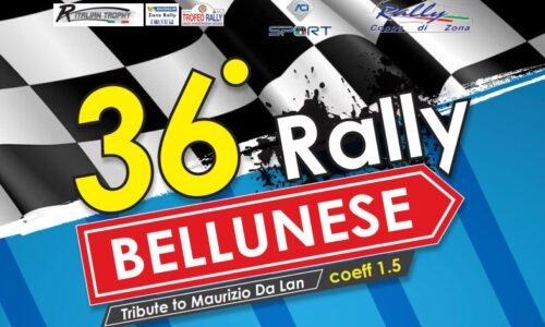 Elenco Iscritti 36°esimo Rally Bellunese.