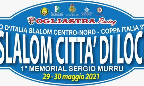 Il 4° Slalom Città di Loceri va al 29-30 Maggio.