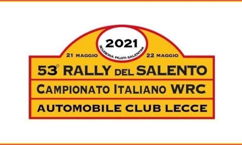 Elenco Iscritti 53°esimo Rally del Salento.