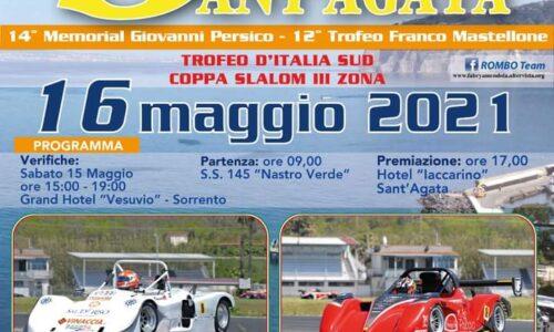 Tempi Live 16°esimo Slalom Sorrento Sant'Agata.