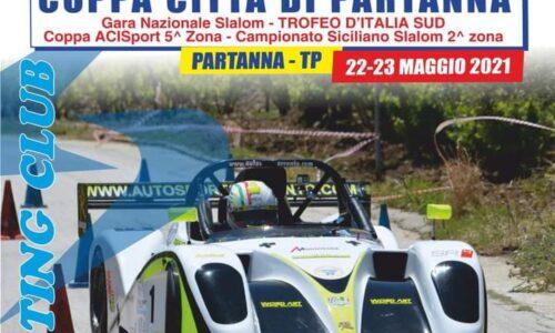 Elenco Iscritti 27°esima Coppa Città di Partanna.