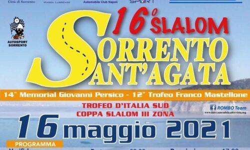 Il 16°esimo Slalom Sorrento Sant'Agata si avvicina.