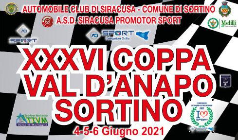 Elenco Iscritti XXXVI° Coppa Val d'Anapo Sortino.