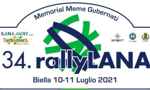 Elenco Iscritti 34°esimo Rally Lana.