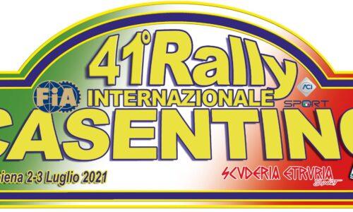 Elenco Iscritti 41° Rally Internazionale del Casentino.
