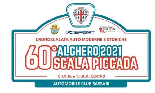 Elenco Iscritti 60°esima Alghero Scala Piccada.