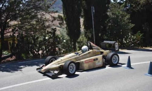 Ingardia Girolamo vince il 6°Autoslalom Sant'Angelo Muxaro.