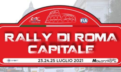 Elenco iscritti Rally Roma Capitale.