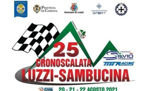 Elenco Iscritti 25°esima Cronoscalata Luzzi Sambucina.