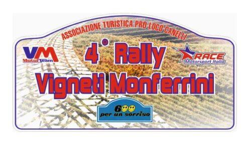Elenco Iscritti 4° Rally Vigneti Monferrini.