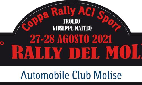 Elenco Iscritti 26°esimo Rally del Molise.