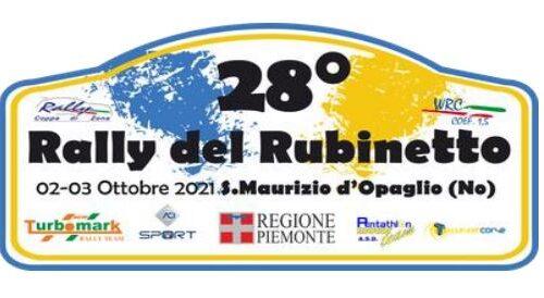 Elenco Iscritti 28°esimo Rally del Rubinetto.