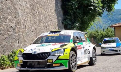 Pollara – Mangiarotti vincono il 14°esimo Rally Valle del Sosio.