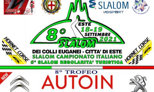 Tempi Live 8° Slalom dei Colli Euganei Città di Este.
